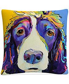 "Pat Saunders-White Sadie 16"" x 16"" Decorative Throw Pillow"