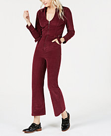 Free People Take Me Out Corduroy Jumpsuit