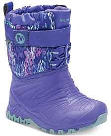 Merrell Toddler Girls Snow Quest Lite Boots