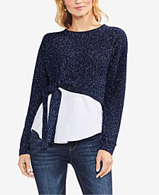 Vince Camuto Layered-Look Sweatshirt