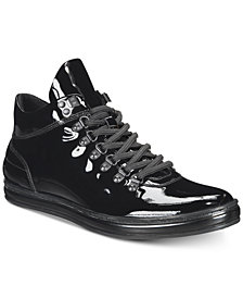 Kenneth Cole New York Men's Brand Tour Patent Leather Sneakers