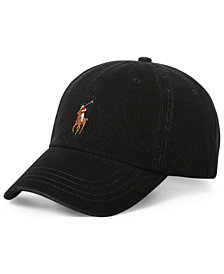 Polo Ralph Lauren Men's Stretch Denim Baseball Cap