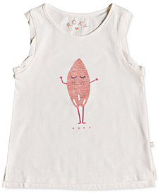 Roxy Toddler Girls Graphic-Print Cotton Tank Top