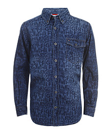 Tommy Hilfiger Big Boys Bill Denim Shirt
