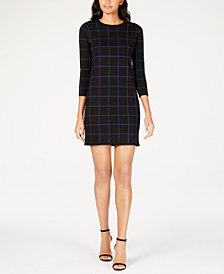 Anne Klein Printed Mini Dress