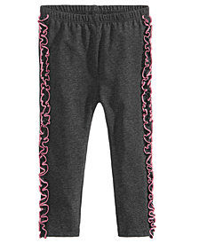 First Impressions Baby Girls Side Ruffle Leggings, Created for Macy's