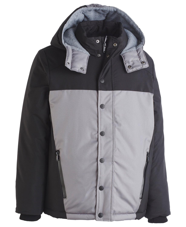Calvin Klein Big Boys Peak Tech Colorblocked Hooded Jacket