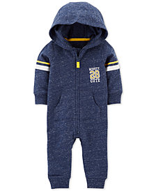 Carter's Baby Boys 1-Pc. Hooded Cotton Coverall