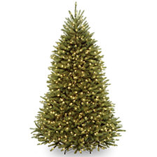 National Tree 6 .5' Dunhill Fir Hinged Tree with 650 Clear Lights
