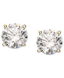 Diamond Stud Earrings (1/3 ct. t.w.) in 14k Gold or White Gold