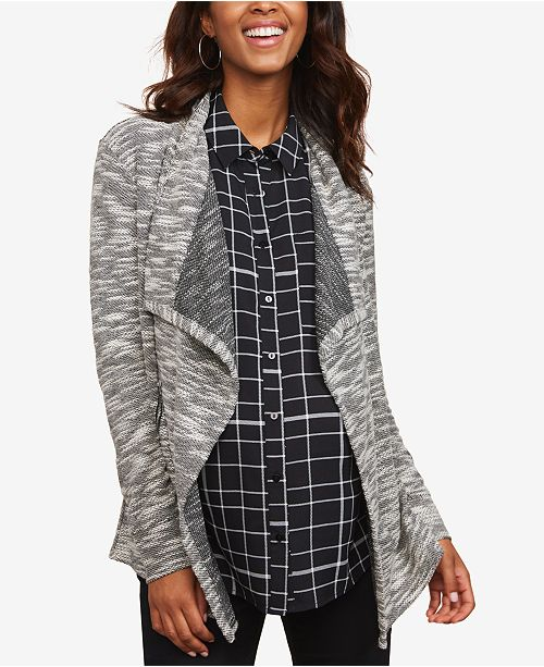 Motherhood Maternity Open-Front Jacket
