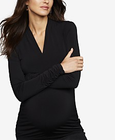 A Pea In The Pod Maternity Ruched Top