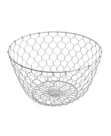 Thirstystone White Chicken Wire Basket