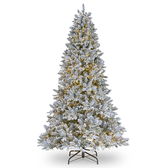 National Tree Company National Tree 6 .5' Feel Real  Iceland Fir Hinged Tree with 650 Clear Lights