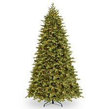 9' Feel Real  Princeton Fraser Fir Hinged Tree with 1000 Dual Color  LED Lights & PowerConnect™