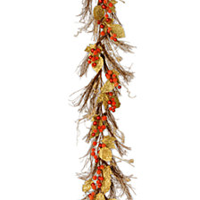 National Tree Company 6 ft. Berry/Leaf Vine Garland