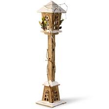 "National Tree 32"" Wooden Street Lamp"