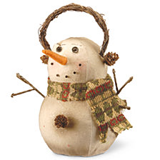 "National Tree 9.5"" Snowman Decoration"