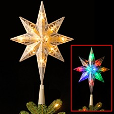 National Tree Tree Top Star for Artificial Trees with Dual Color® Lights