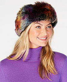 Betsey Johnson Party Animal Faux-Fur Headband