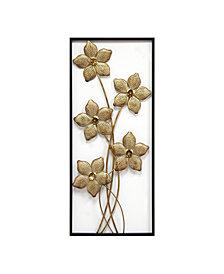 Gold Lattice Flower