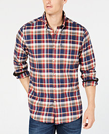 Barbour Men's Challow Plaid Shirt, A Sam Heughan Exclusive, Created for Macy's