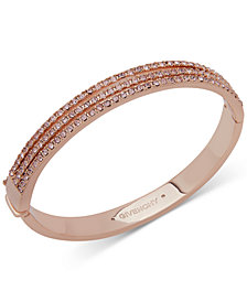 Givenchy Swarovski Crystal Bangle Bracelet