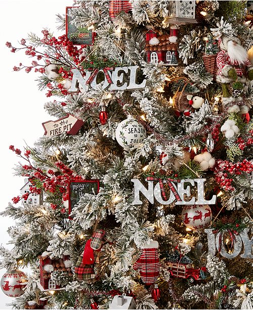 Holiday Lane's whimsical Christmas Cheer Ornament Collection incorporates  traditional red, white and green hues with fun designs and textural  elements to ... - Holiday Lane Christmas Cheer Ornament Collection, Created For Macy's