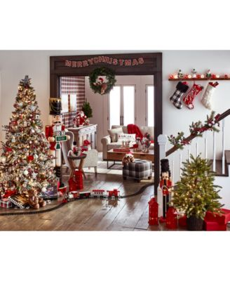 this item is part of the holiday lane christmas cheer dcor collection created for macys - When Was Christmas Created