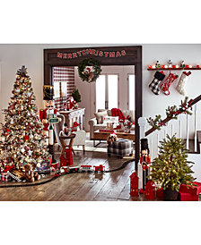 Holiday Lane Christmas Cheer Décor Collection, Created for Macy's