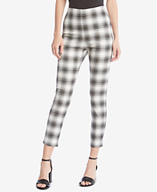 Karen Kane Plaid Piper Skinny Pants