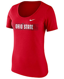 Nike Women's Ohio State Buckeyes Sideline Scoop T-Shirt 2018