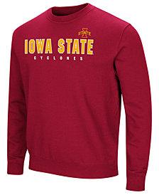 Colosseum Men's Iowa State Cyclones Playbook Fleece Crew Neck Sweatshirt