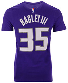 Nike Men's Marvin Bagley III Sacramento Kings Icon Player T-Shirt
