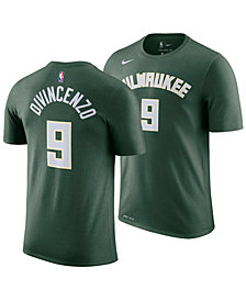 Nike Men's Donte DiVincenzo Milwaukee Bucks Icon Player T-Shirt