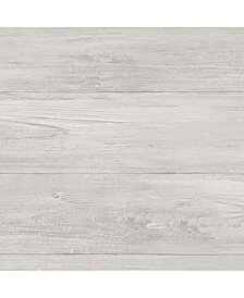 Grey Wood Plank Peel and Stick Wallpaper