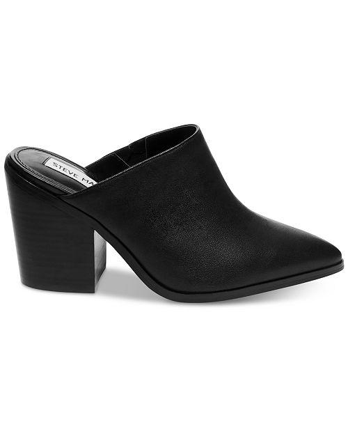 3275a4ded10 Steve Madden Women s Savina Western Mules   Reviews - Mules   Slides ...