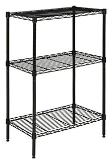 Suze 3-Shelf Wire Rack, Quick Ship