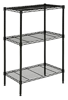 Suze 3-Shelf Wire Rack, Quick Ship