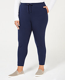 Karen Scott Plus Size Jogger Pants, Created for Macy's