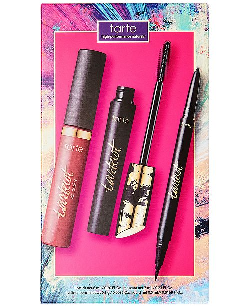 Tarte 3-Pc. Cheers To The Weekend Lash & Lip Set, Created for Macy's