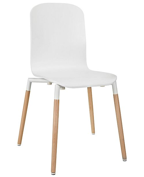 Modway Stack Dining Wood Side Chair