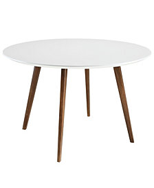 Modway Platter Round Dining Table