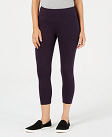 Style & Co Tummy-Panel Capri Leggings