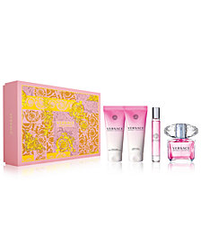 Versace 4-Pc. Bright Crystal Gift Set, A $168 Value