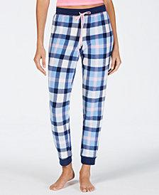 Jenni Stretch-Fleece Pajama Pants, Created for Macy's