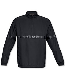 Under Armour Men's Sportstyle Woven Half-Zip Jacket
