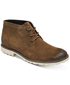 Rockport Men's Leather Sharp & Ready Suede Chukka