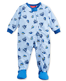 Matching Family Pajamas Infants Love You A Latke Footed Pajamas, Created For Macy's