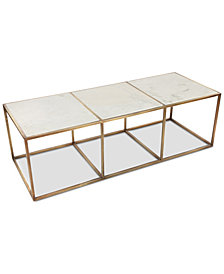 Isla Marble Coffee Table